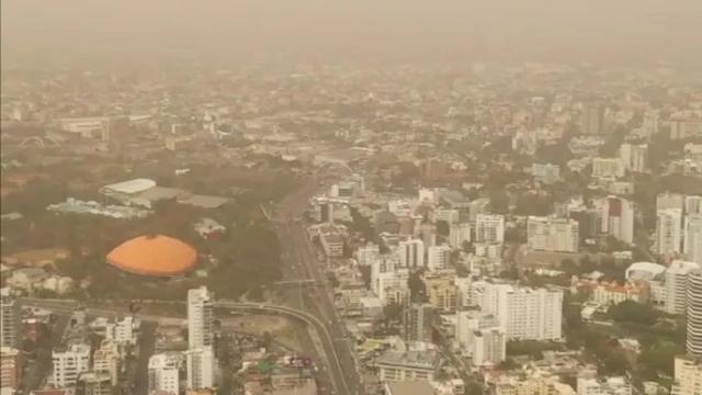 Onamet pronostica concentraciones de polvo del Sahara y lluvias