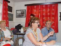 Pályázati lehetőségekről is szólt Pogány Erzsébet, a SZAKC igazgatója.JPG