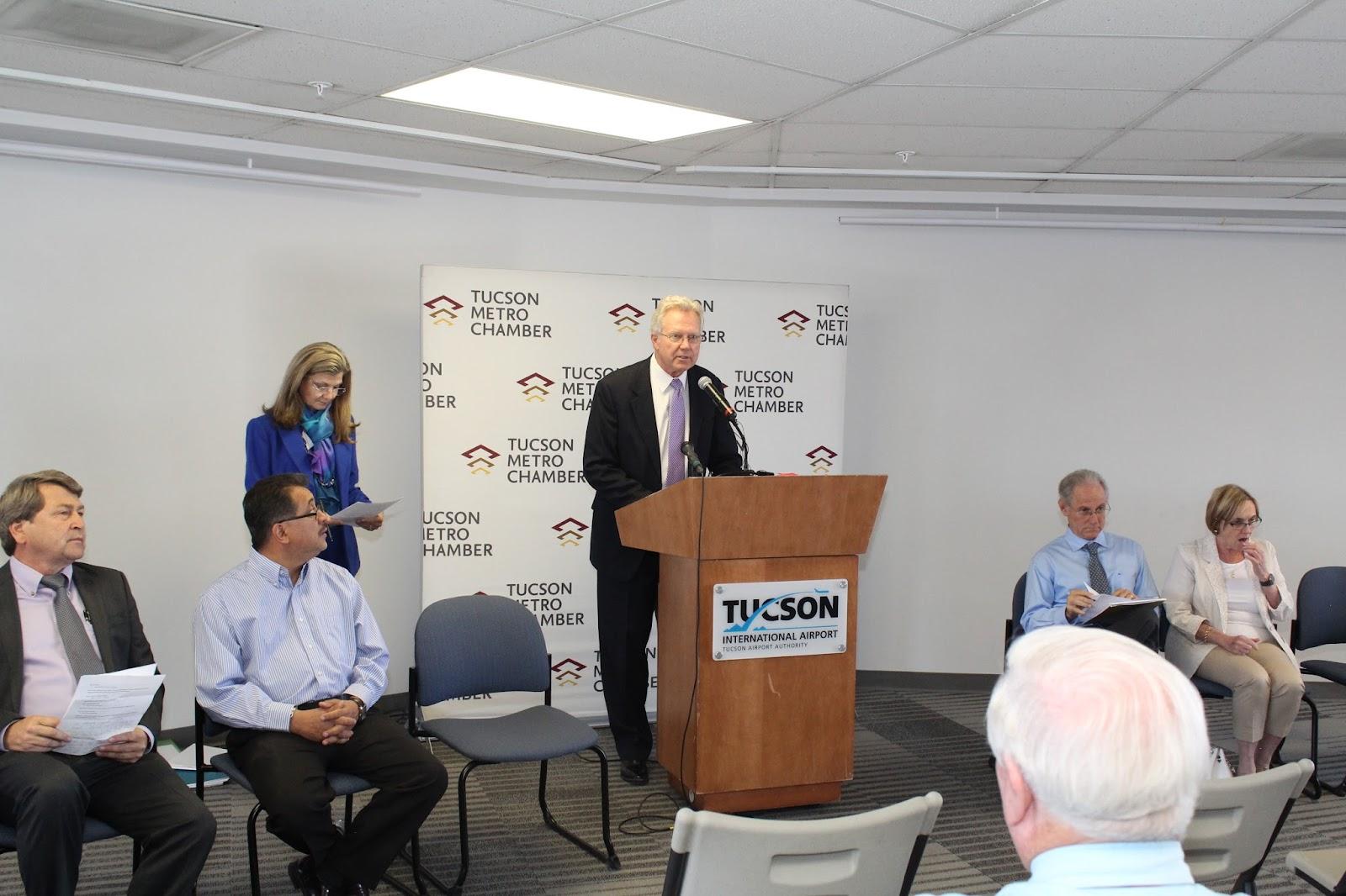 Tucson - JFK Non-Stop Route Announcement - IMG_3156.JPG