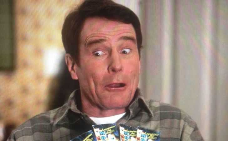 Bryan Cranston learned how to roller skate for an episode of Malcolm in the Middle.