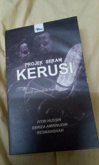 Projek Seram Kerusi oleh Fitri Hussin, Ebriza Aminnudin & Resmanshah