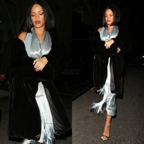 Rihanna in Vintage John Galliano for her 28th Birthday