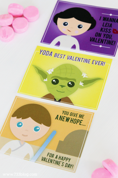 Star Wars New Hope Valentines