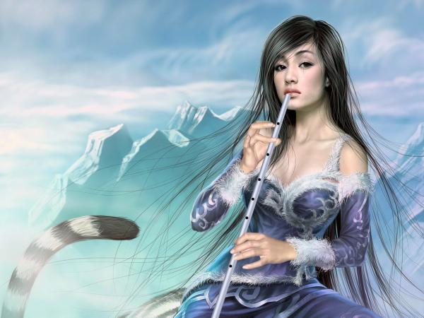 Tiger Music Girl, Magic Samurai Beauties