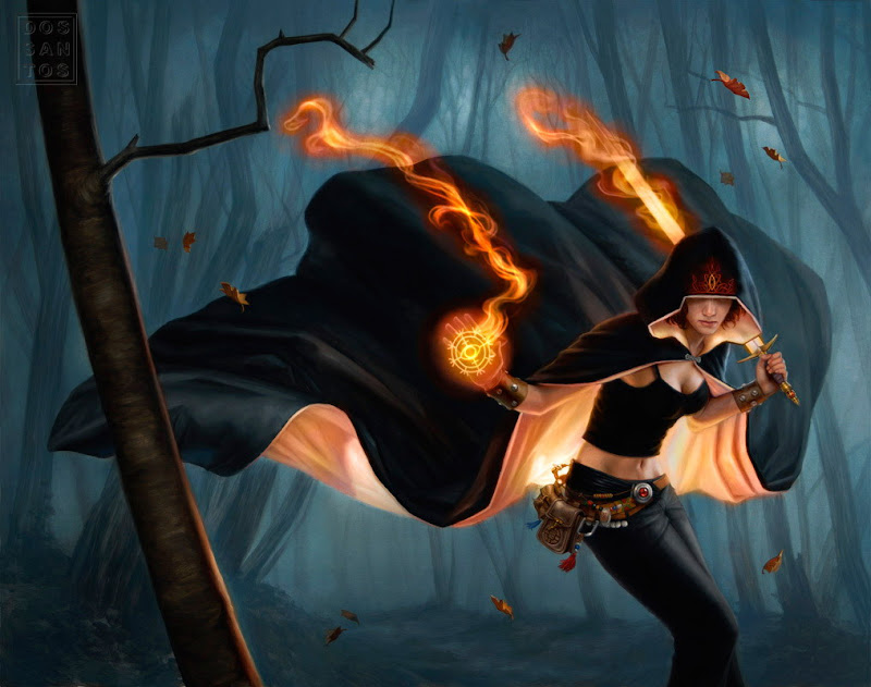 Sorcerer Of Fire, Magic And Spells 2
