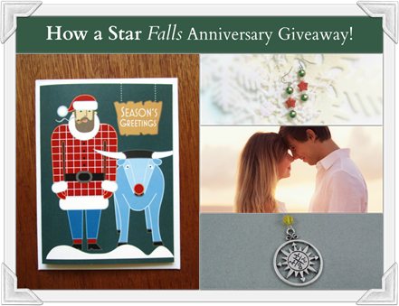 How a Star Falls Anniversary Giveaway Collage