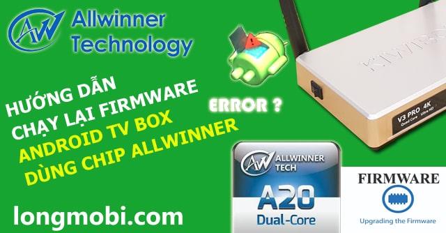 chay phan mem tv box android chip allwinner