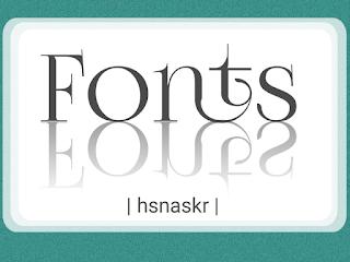 Hasan Askari: Font bagus sekaligus indah untuk website