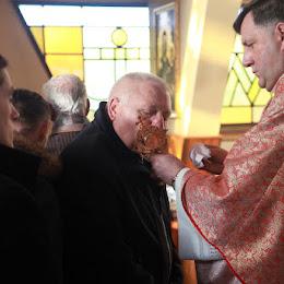 Barbórka 2015 - ucałowanie relikwii św. Barbary. Foto: Jacek Hajduga