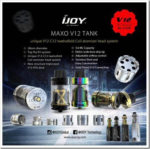 Catch thumb2 - 【新製品】「28mm IJOY MAXO V12 TANK」「Joyetech UNIMAX 22/25スターターキット」「Teclast X24 Air AIOデスクトップPC」