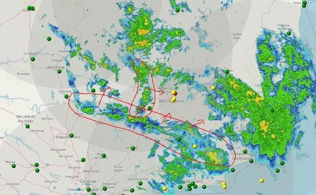 Aviso Meteorológico: Intensificação das chuvas nas próximas horas na Zona da Mata