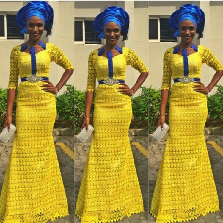 Stylish African Traditional Wedding Dress Styles 2d