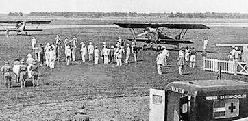 Sân bay Tân Sơn Nhất 100 năm trước của Sài Gòn