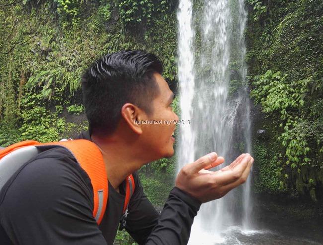 air terjun sendeng gile Lombok