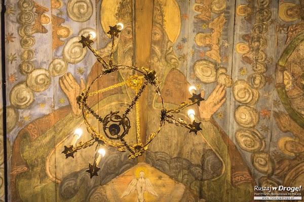 Malowidła w Drewnianej Cerkwii w Powroźniku
