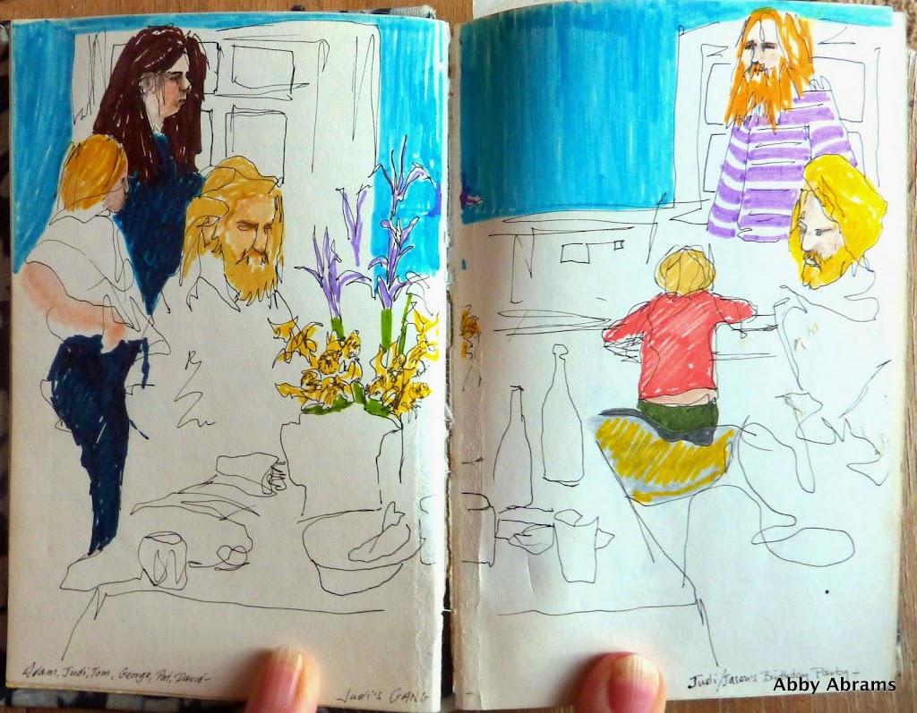 judi's b'day;  diary sketch 3250x2531