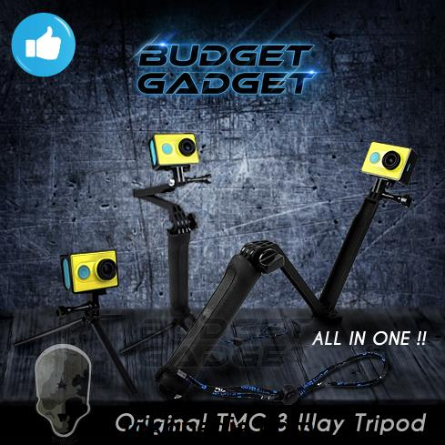 TMC 3 Way Tripod for Xiaomi Yi & GoPro