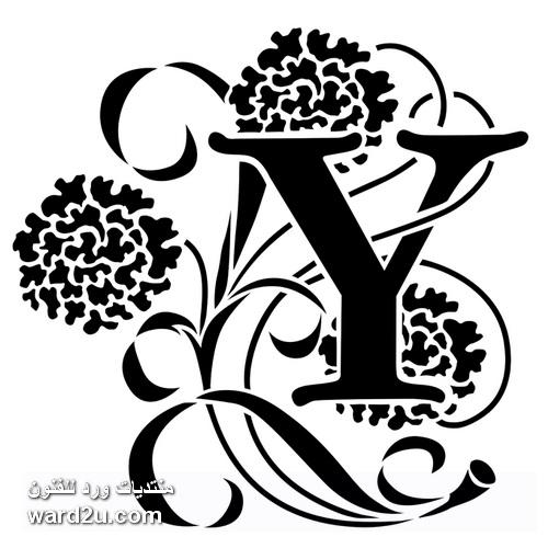 تصميمات استنسل حروف مزخرفة جاهزة للاستخدام
