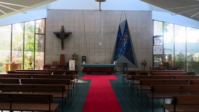Inside Darwin Cathedral