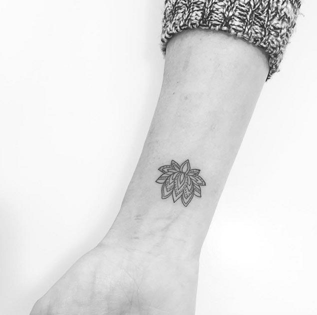 Este pequeno lotus