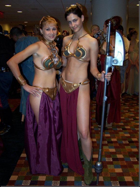Princess Leia - Golden Bikini Cosplay_865825-0014