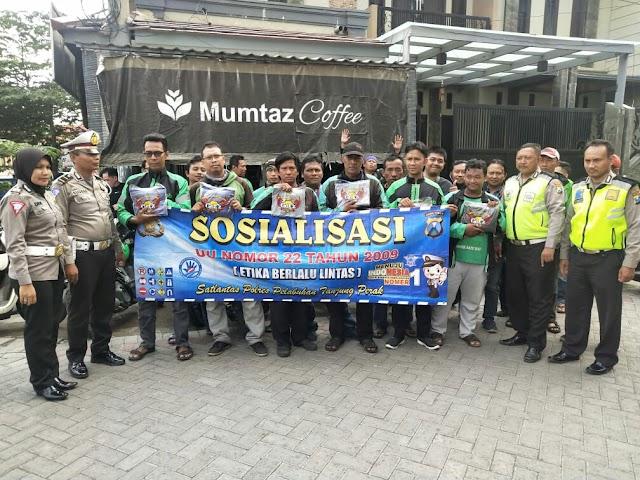 Sosialisasi Etika Berkendara Satlantas Polres Tg. Perak
