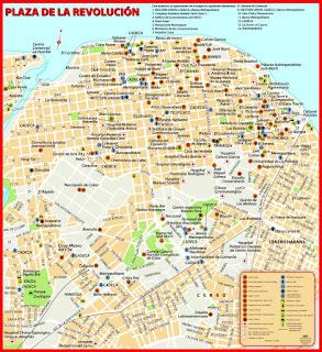Télécharger une carte de la Havane (Cuba) sur nos smartphones