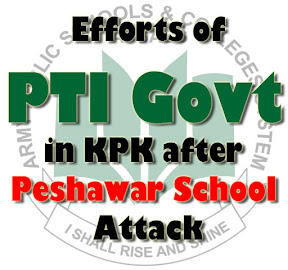Efforts of the PTI Govt in KPK after APS School Attack