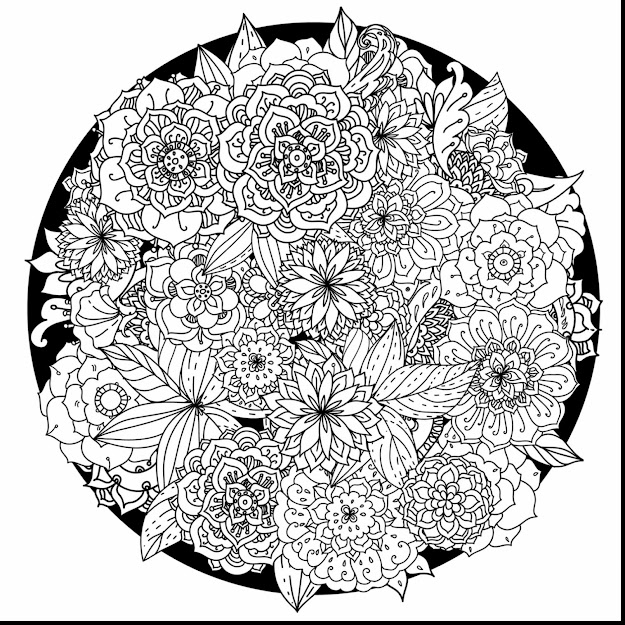 Outstanding Adult Mandalas Coloring Pages With Mandala Coloring Pages For  Adults And Detailed Mandala Coloring Pages