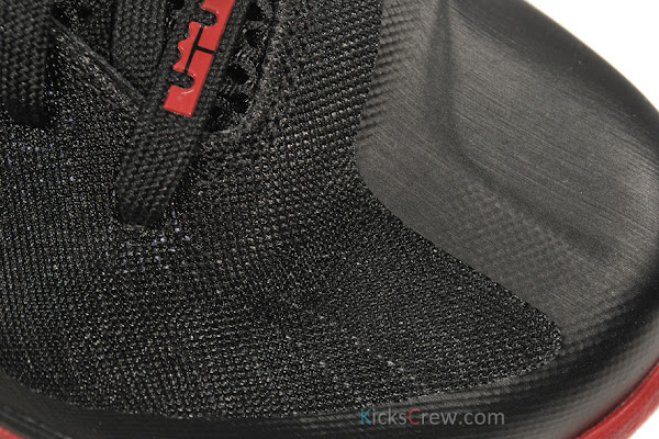 Yet Another Look at Nike LeBron 9 in Black amp Varsity Red