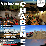 Výstup na Chabenec 2011
