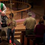 Recessing the Cross