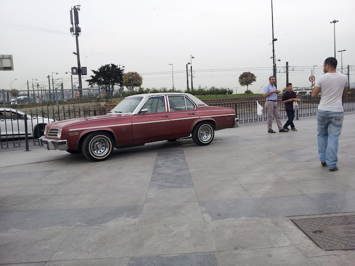 Vintage cars in Istanbul
