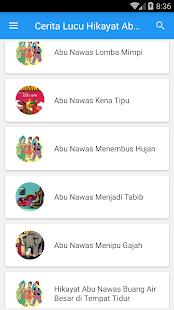 Cerita Lucu Hikayat Abu Nawas - náhled