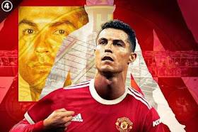 من جديد رونالدو يعود للعب لفريقه الام مانشستر يونايتد
