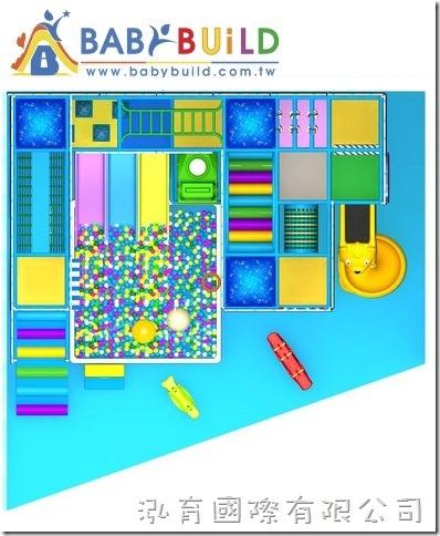 BabyBuild 室內3D兒童遊樂設施