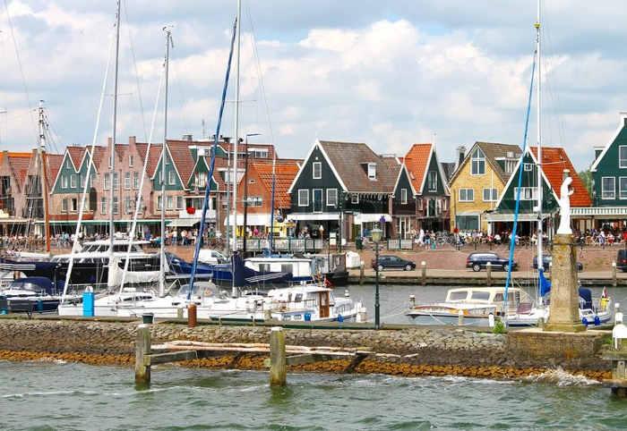 pueblo holandes con encanto Volendam