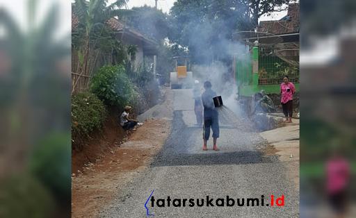 Pengaspalan Kampung Tipar hingga Kampung Keramatjaya