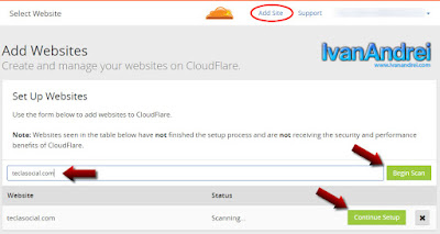 Instalación y configuración de CloudFlare