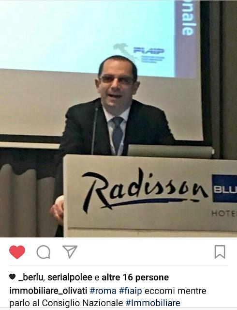 Fiaip Bergamo Agenti Immobiliari Professionali Olivati presidente provinciale