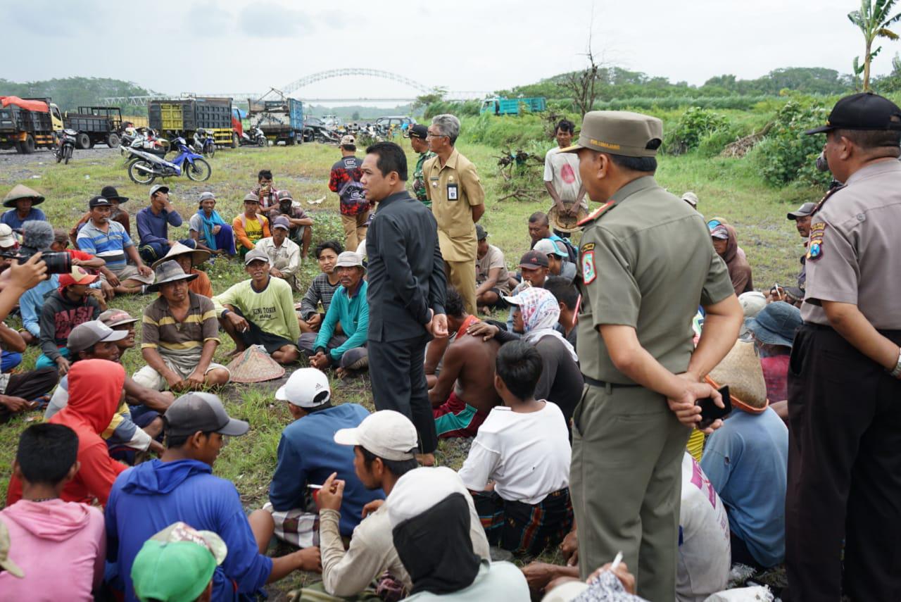 SKAB Dijual Diluar Ketentuan, Bupati Sidak Tambang Pasir Pandanarum