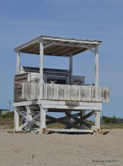 Lonely Lifeguard Station