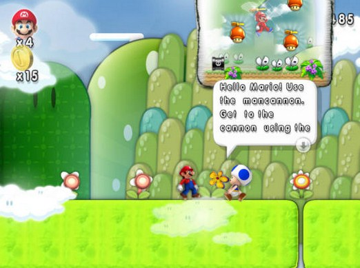 New Super Mario Forever 2015 PC Games Free Download