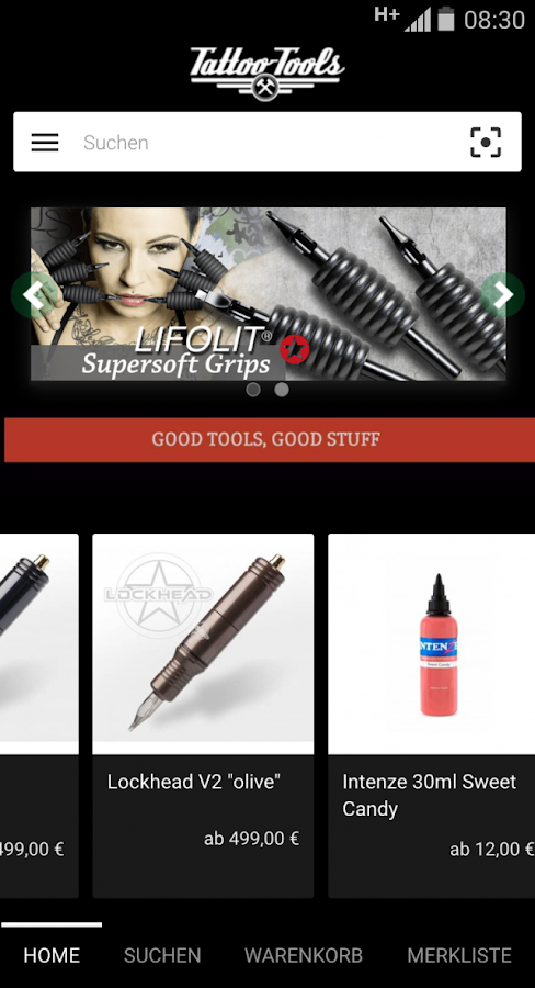 Tattoo-Tools GmbH- screenshot