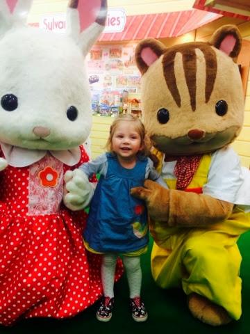 Maegan with Freya Rabbit - Sylvanian Families