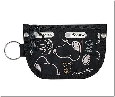 Peanuts X LeSportsac 7317 Key Coin Pouch 02