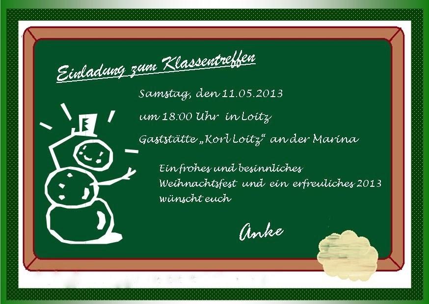 Einladungen Zum Klassentreffen Animefc Info