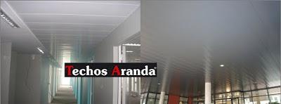 Delegacion de techos de aluminio Madrid