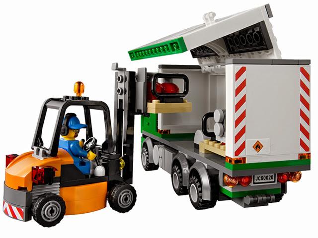 60020 レゴ エアカーゴトラック(シティ)
