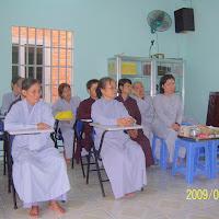 [TSPT-0110] Đoàn phật tử Ninh Bình thăm Thầy và Tu viện (28/07/2009)